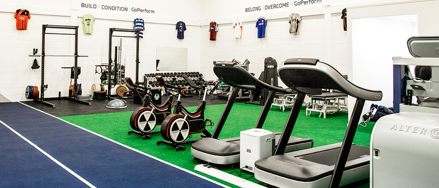 The facility at GoPerform