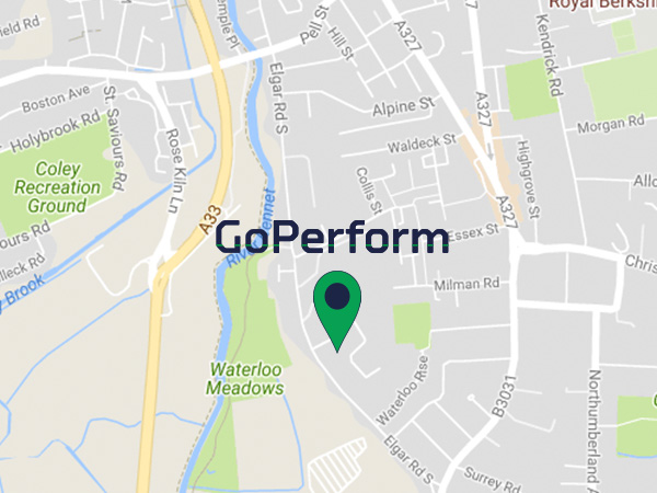 Contact us at GoPerform