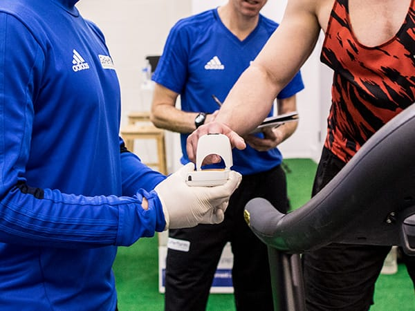 Physiological testing at GoPerform